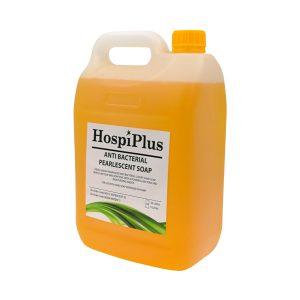 hospiplus antibacterial liquid soap 80512 angle front