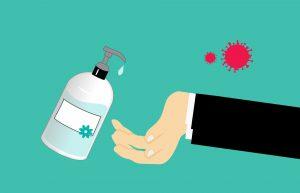 Hand sanitiser hyex