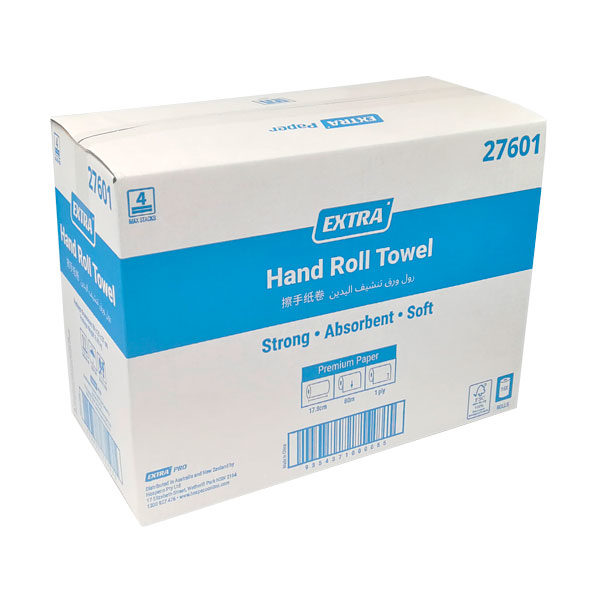 Extra Paper Hand Roll Towel 80 m 27601