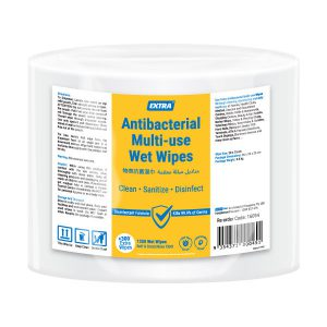 Extra Antibacterial Multi-Use Roll Wipes 1200 pack
