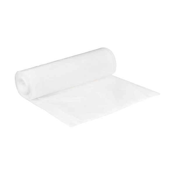 White sanitary scented bag 60 litre 100 bags per roll