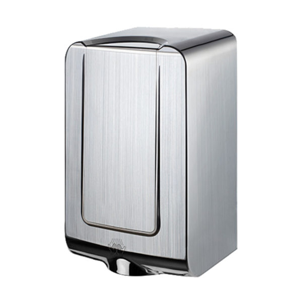 MiniMAX high-speed hand dryer chrome ABS HX HD 285 SS angle