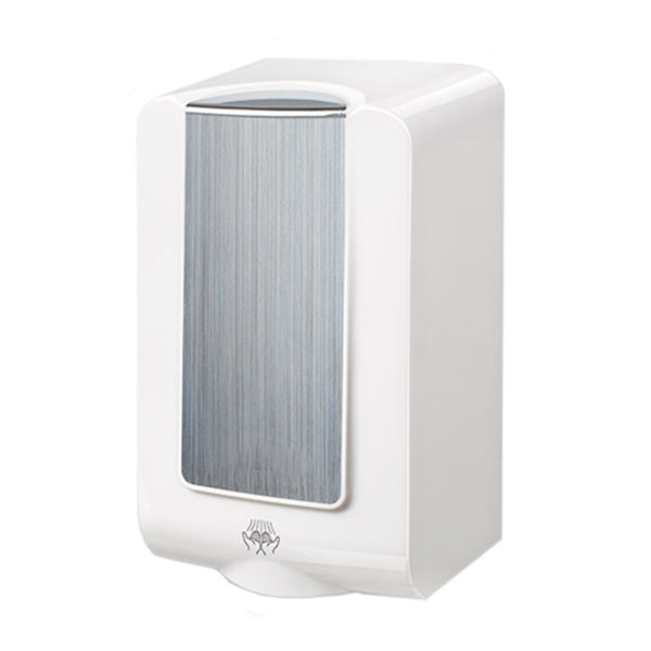 MiniMAX high-speed hand dryer white chrome ABS HX HD 285 angle