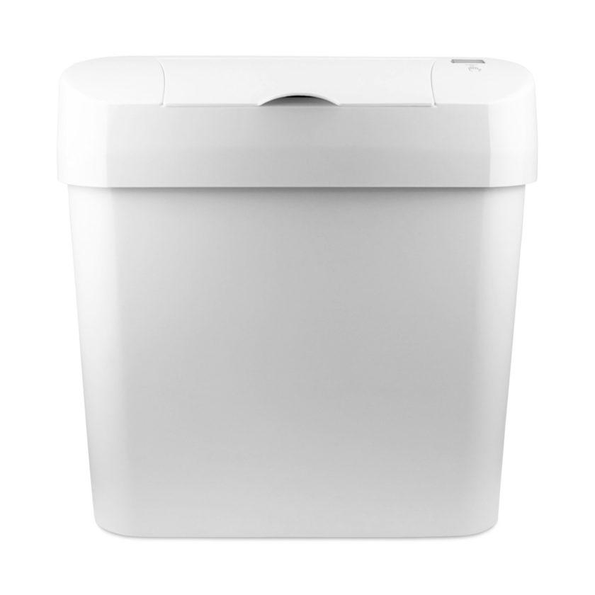 Automatic Sanitary Bin 15L white front 72006W CD 7002A