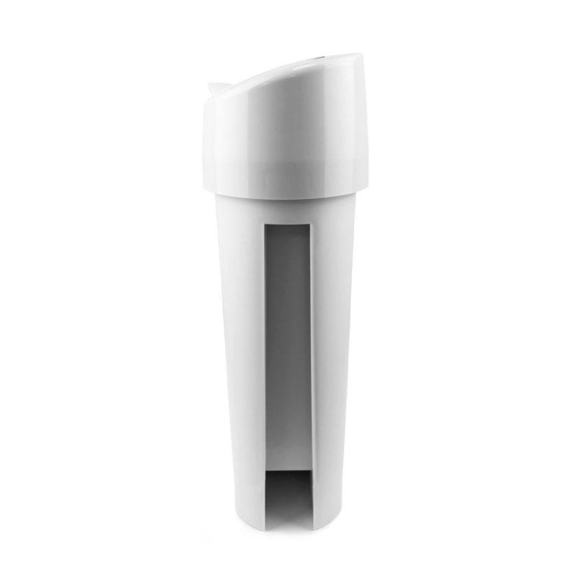 Automatic Sanitary Bin 15L white side 72006W CD 7002A